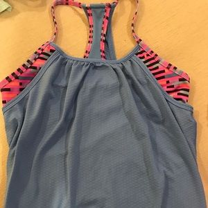 Girls size 12 double Dutch Ivivva tank
